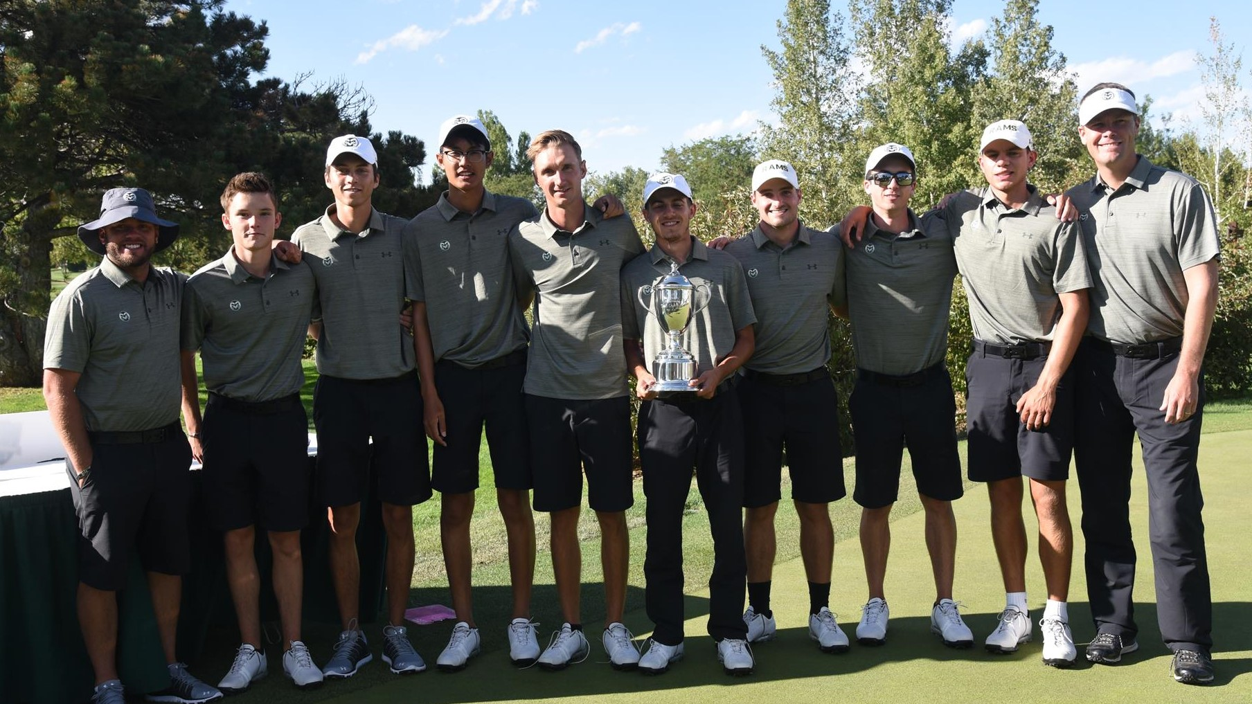 Men s golf wins ram masters invitational presented by pedersen toyota in record fashion